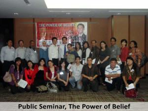 Public Seminar, The Power of Belief