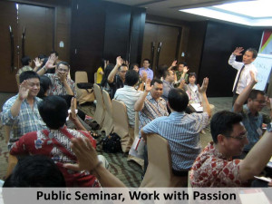 Public Seminar, Work with Passion